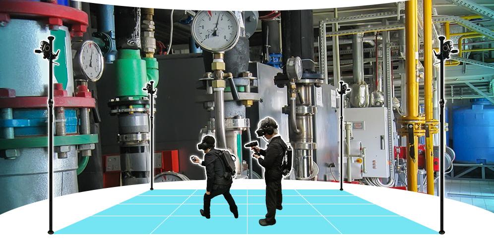 複数人参加型VR訓練システム 技能訓練